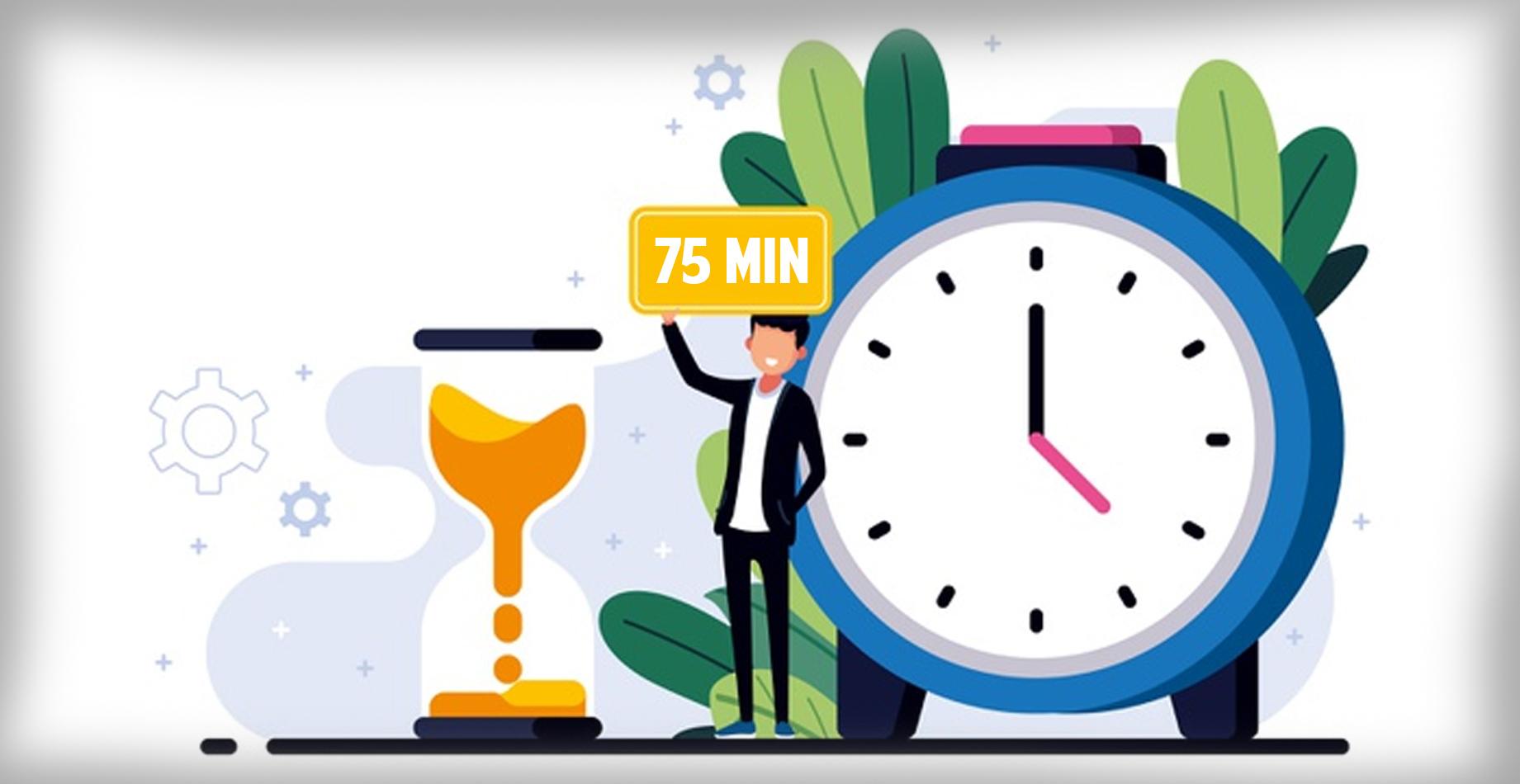 Seventy Five Minutes